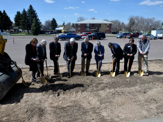 The University of Providence held a ground breaking
