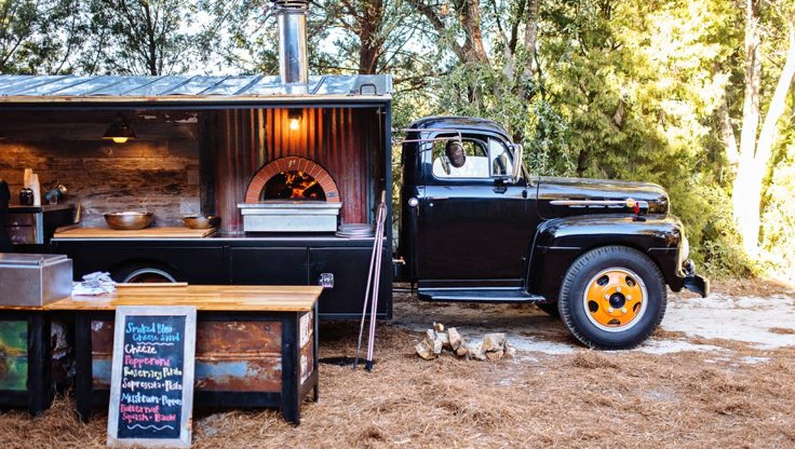 Charleston Based Wood Fired Pizza Catering Truck To Hit