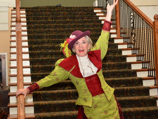 """Susan Mansur Bahr and Keith Pond in """"Hello, Dolly!"""""""