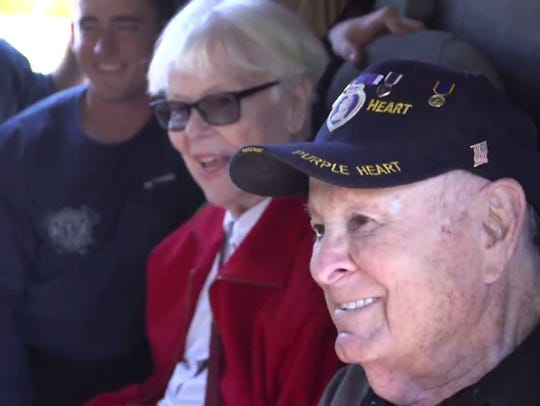 Longtime Mesa police and firefighter supporters Betty