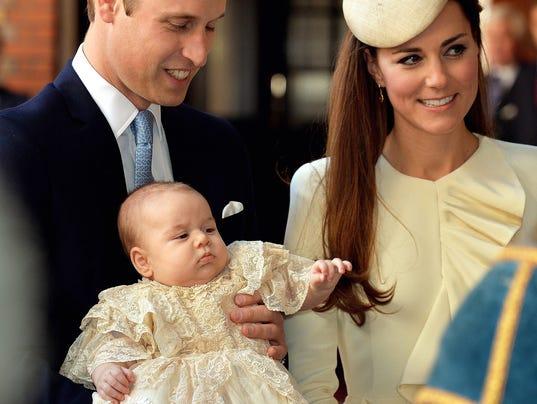 Duke Duchess of Cambridge Prince George