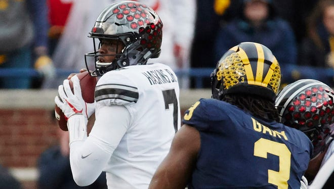 Did his performance in the comeback win at Michigan earn redshirt sophomore Dwayne Haskins extra credit in the battle to win the starting quarterback job at Ohio State?