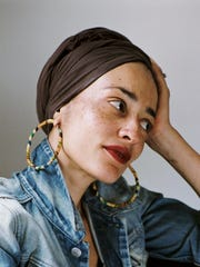 Author Zadie Smith.