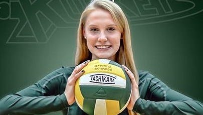 Reynolds senior Brie Faircloth has committed to play college volleyball for Hollins (Va.).