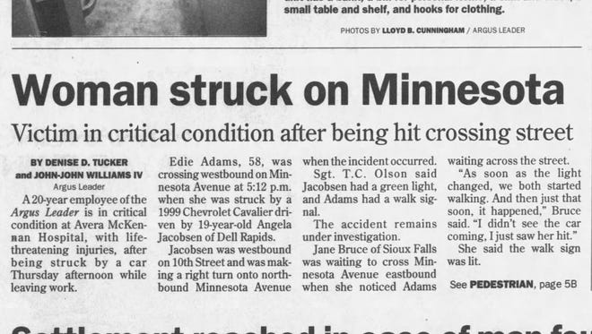 Story from April 11, 2003.