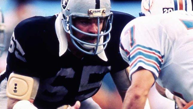 Mickey Marvin was part of two Super Bowl teams with the Oakland Raiders.