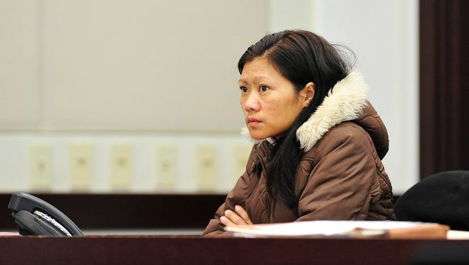 Sawng Hing listens in court during a previous hearing in her case. She pleaded guilty to reduced charges on Thursday and was sentenced to probation.