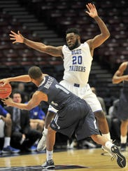 Middle Tennessee  Giddy Potts (20), who is from Athens,