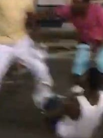 A brawl in downtown Montgomery this past weekend has angered many.