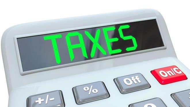 Taxes illustration