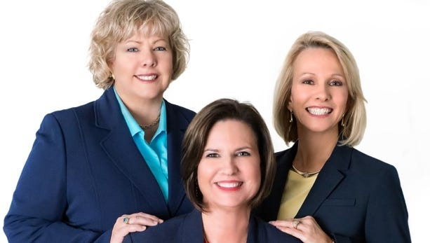 From left, Roberta Murray, Janice Norman and Joyce Page  are available to discuss any real estate needs.