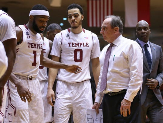 NCAA Basketball: Temple at Houston
