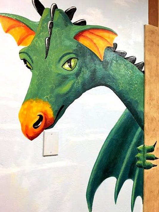 gillett lib dragon