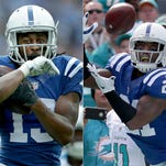 T.Y. Hilton and Vontae Davis of the Colts are also-rans in a players' vote of the NFL's top 100 players.