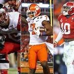 Colts mock draft links: LB, OL, RB — or a WR?