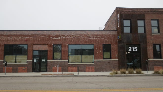 The future home of the Iowa Tap Room at 215 E. Third St.