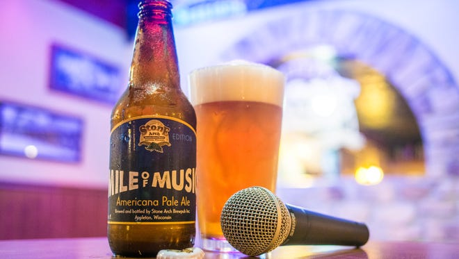 Stone Arch Brew House is shipping its commemorative Mile of Music Americana Pale Ale to bars, restaurants and stores including Festival Foods and Woodman's.
