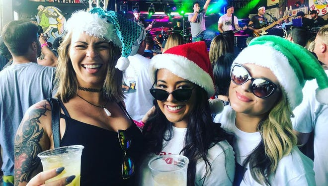 Four Dewey Beach bars will team together for the town's first Dewey Claus Crawl on Saturday.