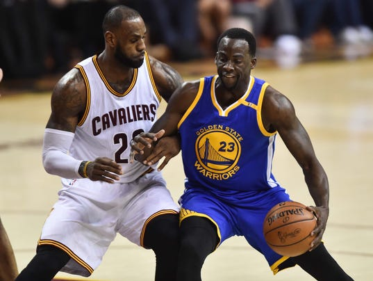NBA Finals: Warriors-Cavaliers Game 3 ratings up 14% from last year
