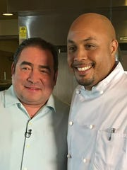 Mile Square Bistro chef Charles Mereday once hosted celebrity chef Emeril Lagasse at a restaurant Mereday owned in Naples, Fla.