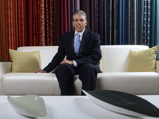 Dick Resch at KI corporate offices Jan. 14.