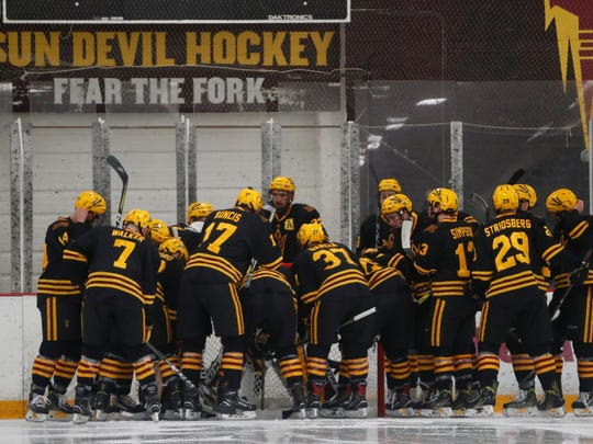 ASU hockey currently plays at Oceanside Ice Arena in