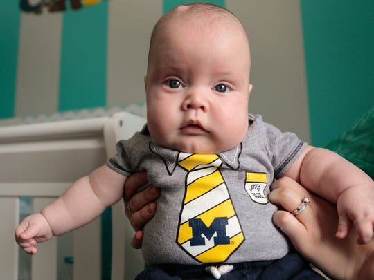 Carter Hilton is a cooing ball of wiggly energy. The