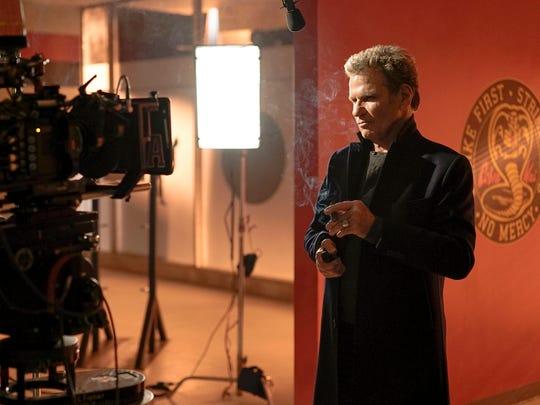 "Martin Kove returned as evil sensei John Kreese in the first season finale of ""Cobra Kai."""