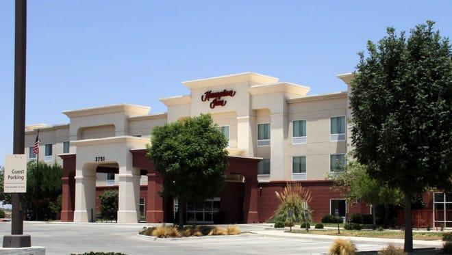 The Hampton Inn by Hilton is located at 3751 E. Cedar Street in Deming.