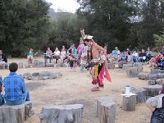 Steven Garcia will demonstrate Native American dance, including northern traditional and shawl dancing, at the Satwiwa Native American Indian Cultural Center off Lynn Road in Newbury Park on Saturday. He'll be joined by Kathy Willcuts.