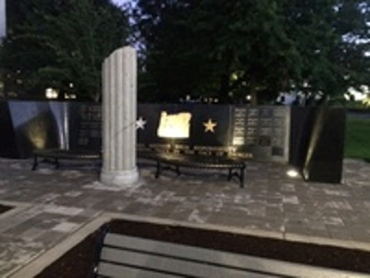 Oregon State Police Fallen Trooper Memorial