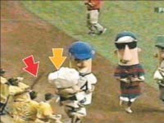 In this video screen grab, Pittsburgh Pirates first