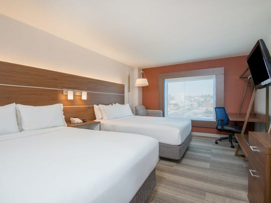 The Holiday Inn Express Central in Downtown El Paso redid its 112 rooms as part of a $2 million renovation.