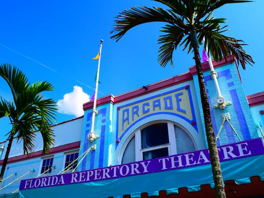 Florida Repertory Theatre is located in the historic