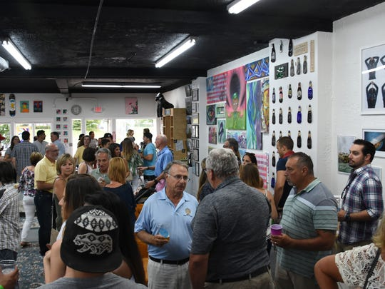 The grand opening of The Working Artist took place