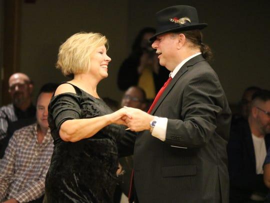 Barbara Thomas and Howard Whitcomb perform at Season