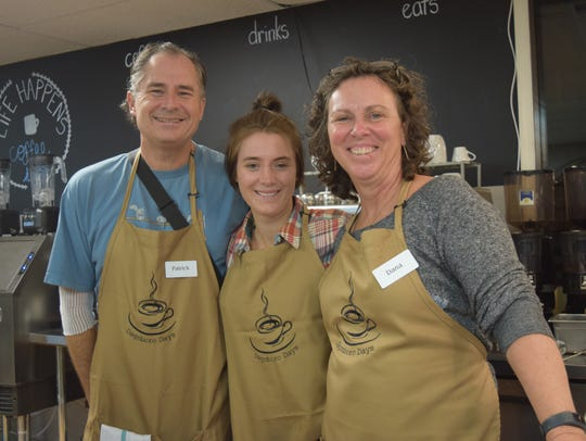 A family affair: Pat, Audrey and Dana Miller are opening
