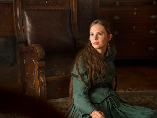 "Maya Hawke as Jo on ""Little Women."""