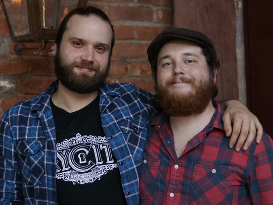 Zack Erickson (left) is the founder of Key City Brewing