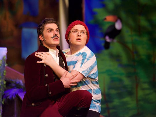 """Colerain High School students performing """"Peter and"""