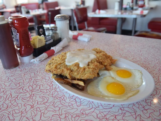 The chicken-fried steak is made-to-order at Decatur