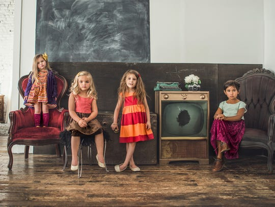 Glitter + Wit makes contemporary fashions for kids