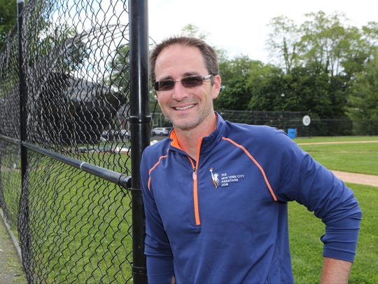 Jesse Waters is the new Eastchester High School varsity baseball coach. Here he is pictured at the baseball field at the school, June 7, 2017.