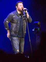 Chris Young performs at Germain Arena on Saturday,
