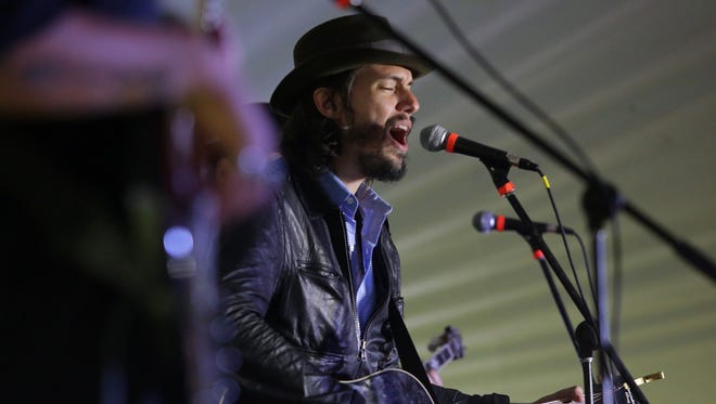 Cory Chisel performs during the first Electric City Experience in 2015.