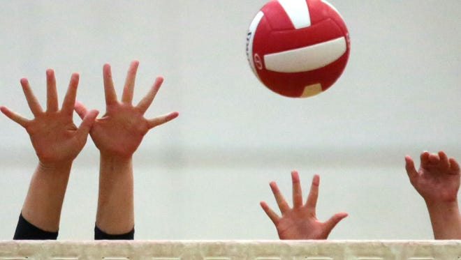 The La Quinta Blackhawks won key Desert Valley League girls' volleyball matchup Wednesday over the Cathedral City Lions by scores of 25-10, 25-10 and 25-8.