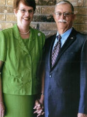 "Mr. and Mrs. R.L. ""Red"" Redclift of Iowa Park."
