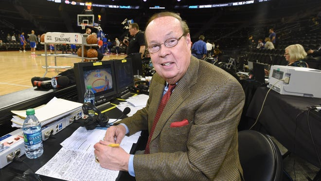 George Blaha is the Pistons play-by-play man for Fox Sports Detroit now but he also did the games on radio for years.