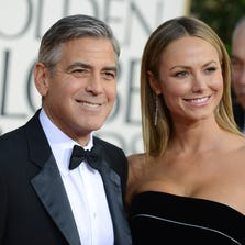 Clooney dated former professional wrestler and model Stacy Keibler for two years before breaking up in 2013.