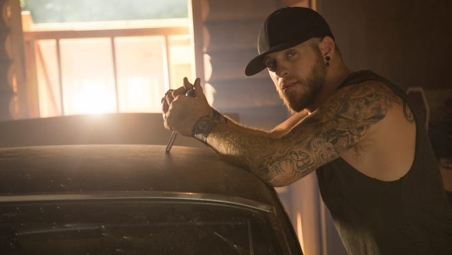 Country music star Brantley Gilbert will perform at the Wharf Amphitheater on June 3.